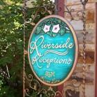 Riverside Sign post